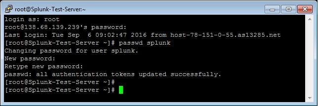 Splunk on CentOS 7 | Liju G